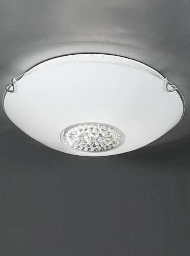 Franklite CF5729 Chrome Ceiling Light
